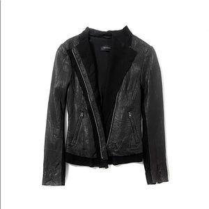 Mackage x Aritzia Black Leather Jacket
